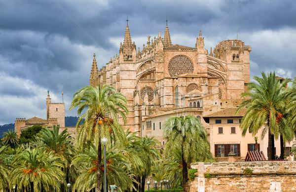Gothic stijl koepel majorca Spanje la Stockfoto © Xantana
