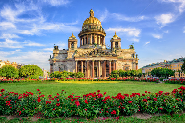 St Isaac cathedral, Saint Petersburg, Russia Stock photo © Xantana