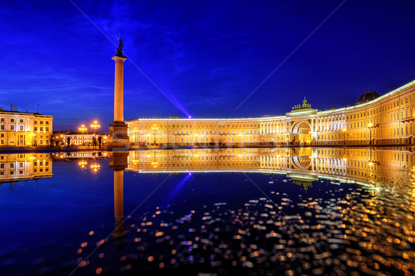 Palace Square, St Petersburg, Russia Stock photo © Xantana