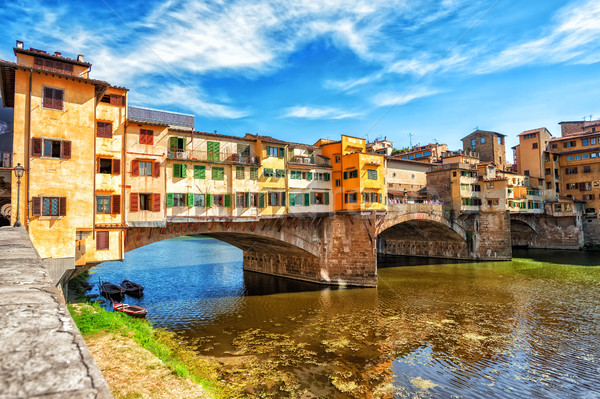 The Ponte Vecchio, Florence, Italy Stock photo © Xantana