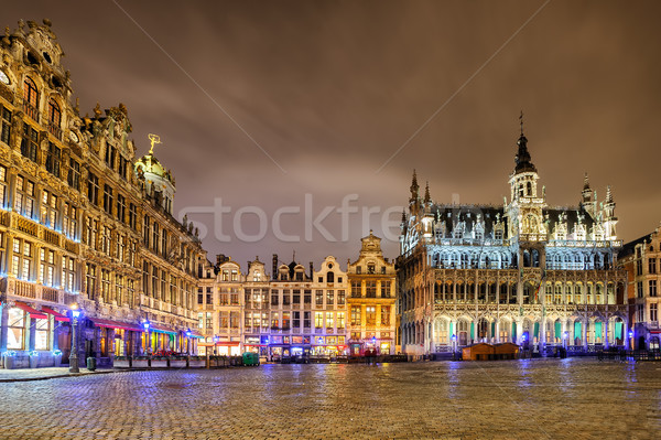 The Grand Place with Breadhouse, Brussels, Belgium Stock photo © Xantana