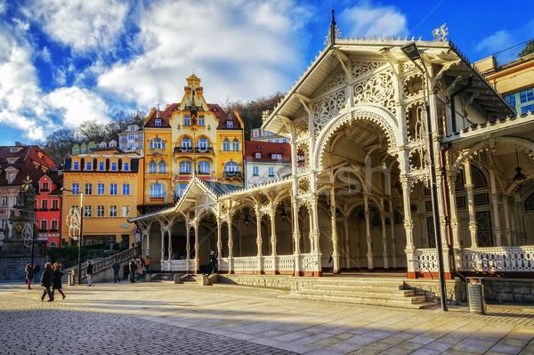 Noto spa città occidentale Repubblica Ceca popolare Foto d'archivio © Xantana