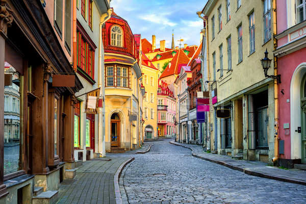 Old town of Tallinn, Estonia Stock photo © Xantana