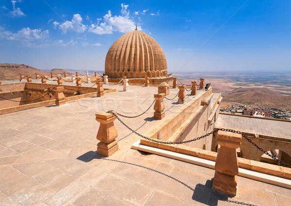 Dome of Zinciriye Medrese, Mardin, south east Turkey Stock photo © Xantana