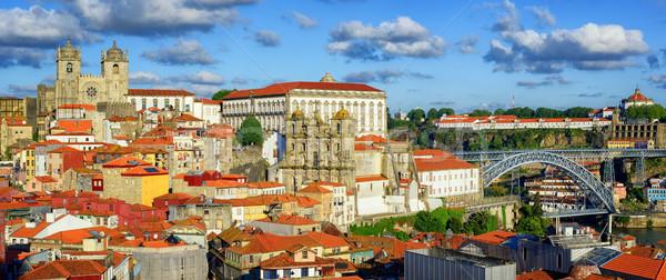панорамный мнение старый город собора моста монастырь Сток-фото © Xantana