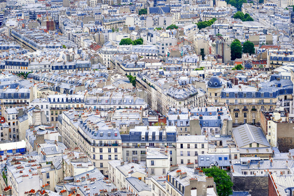Old town of Paris, France Stock photo © Xantana