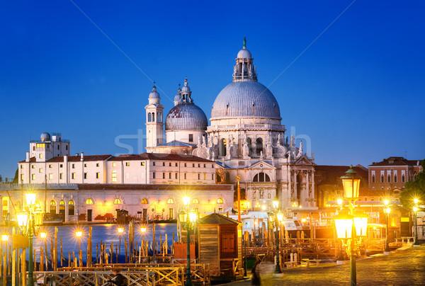 Santa Maria della Salute, Venice, Italy Stock photo © Xantana