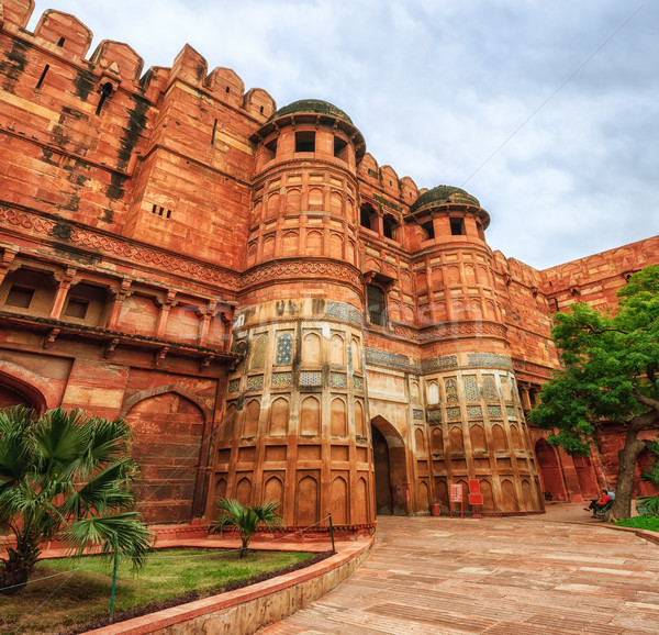 赤 砦 インド ユネスコ 世界 文化 ストックフォト © Xantana