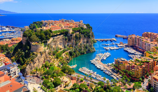Príncipe palacio barrio antiguo rock mediterráneo mar Foto stock © Xantana