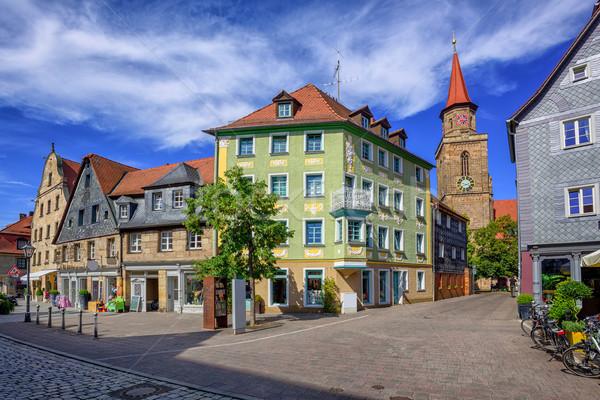 óváros Németország történelmi város központ város Stock fotó © Xantana