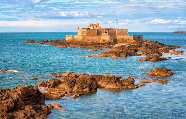 English Channel by Saint-Malo, Brittany, France Stock photo © Xantana
