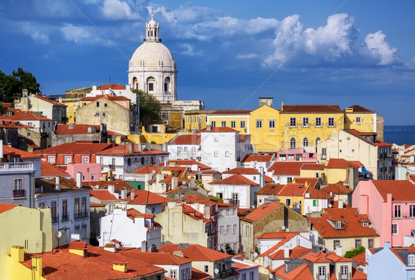 Alfama, Lisbon, Portugal Stock photo © Xantana