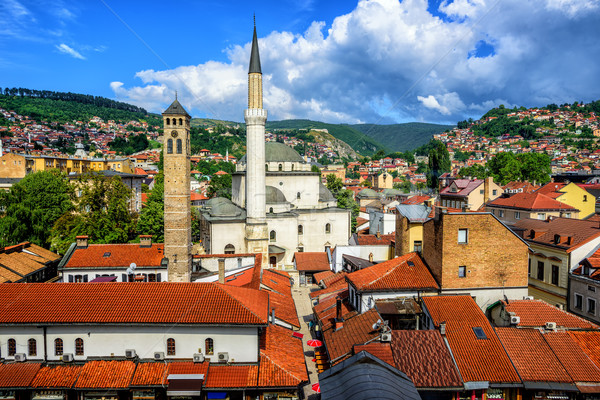 Old Town of Sarajevo, Bosnia and Herzegovina Stock photo © Xantana