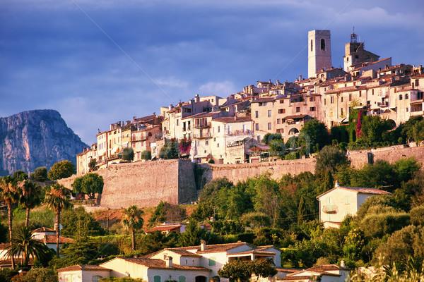 Saint Paul de Vence, Provence, France Stock photo © Xantana