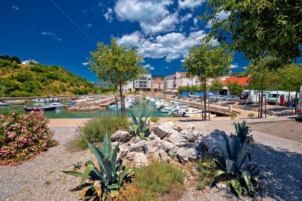 Mediterraneo porto città acqua città mare Foto d'archivio © xbrchx