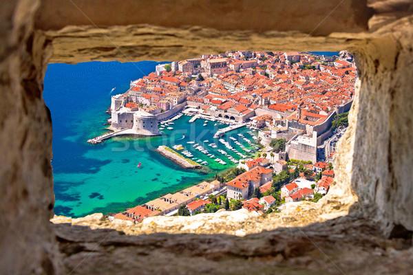 Dubrovnik histórico cidade porto pedra Foto stock © xbrchx
