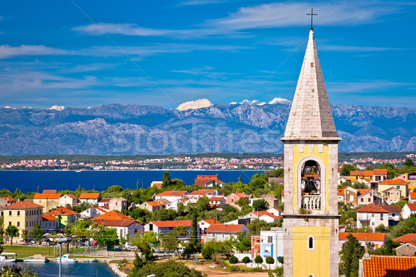 Sutomscica village and Zadar channel view Stock photo © xbrchx