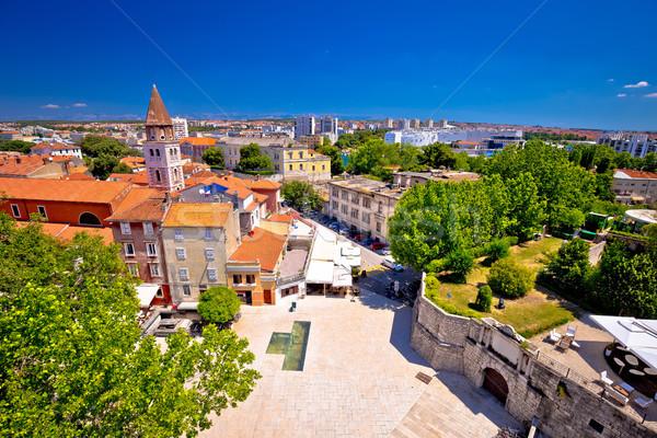 Ciudad paisaje urbano región Croacia agua Foto stock © xbrchx