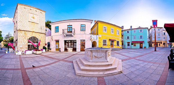 города исторический основной квадратный панорамный мнение Сток-фото © xbrchx