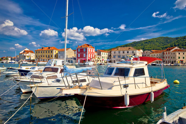 Town of Starigrad on Hvar island  Stock photo © xbrchx