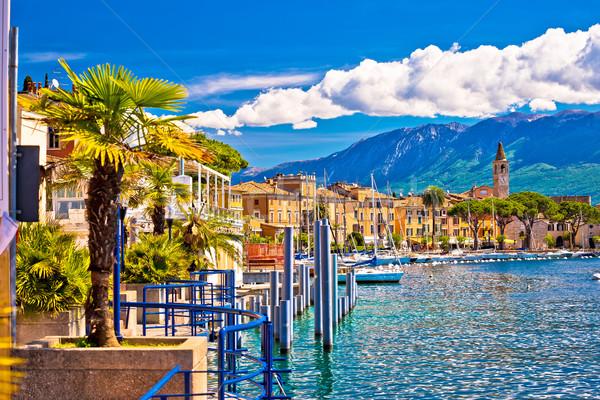 Toscolarno Maderno village on Lago di Garda view Stock photo © xbrchx