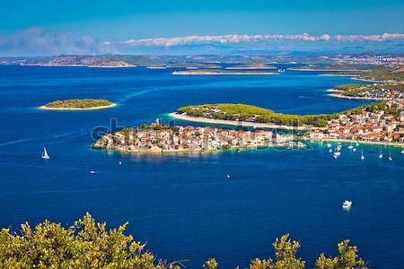 Turísticos destino aéreo panorámica archipiélago vista Foto stock © xbrchx