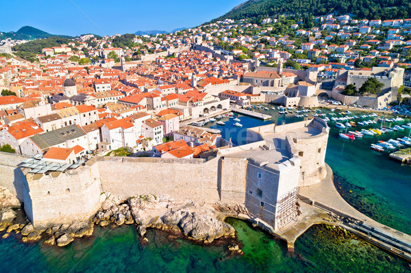 Ville dubrovnik ville murs unesco monde Photo stock © xbrchx