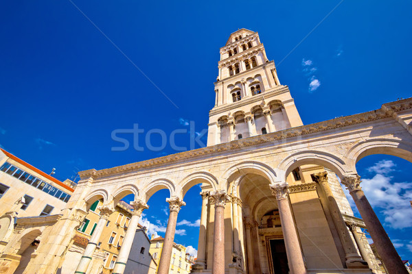 Diocletian palace UNESCO world heritage site in Split Stock photo © xbrchx