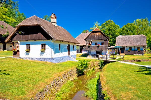 живописный деревне регион рождения место лидера Сток-фото © xbrchx