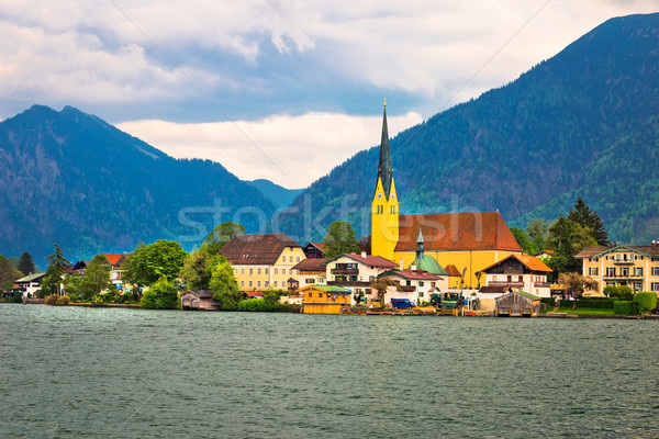 Rottach Egern on Tegernsee architecture and nature view Stock photo © xbrchx
