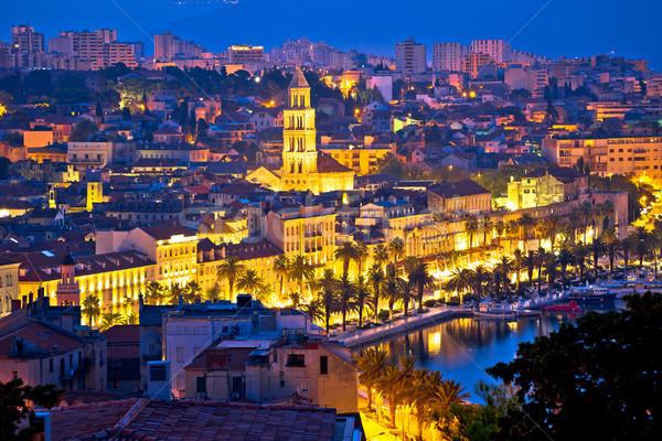 市 夜明け 水辺 宮殿 水 ストックフォト © xbrchx