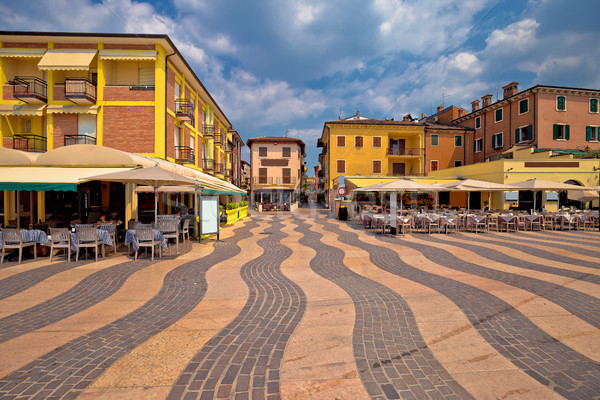 Town of Lazise streetscape view Stock photo © xbrchx