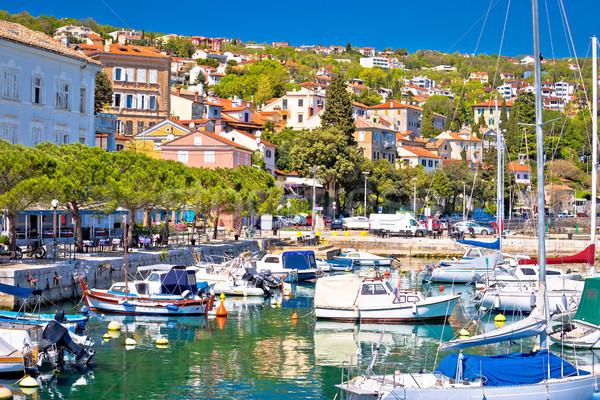 Idilliaco mediterraneo frazione acqua città Foto d'archivio © xbrchx