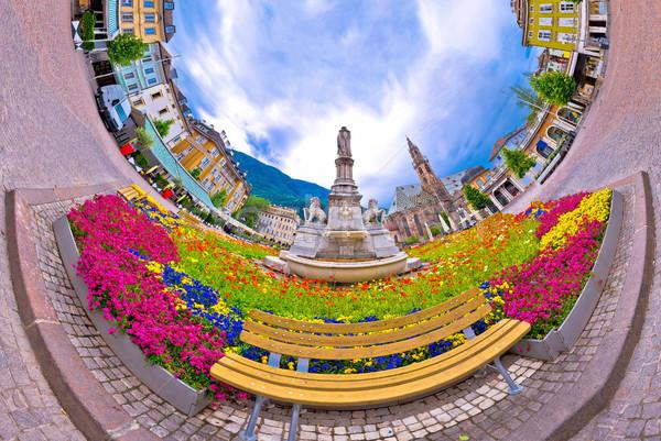 Principale carré planète perspectives panorama Photo stock © xbrchx