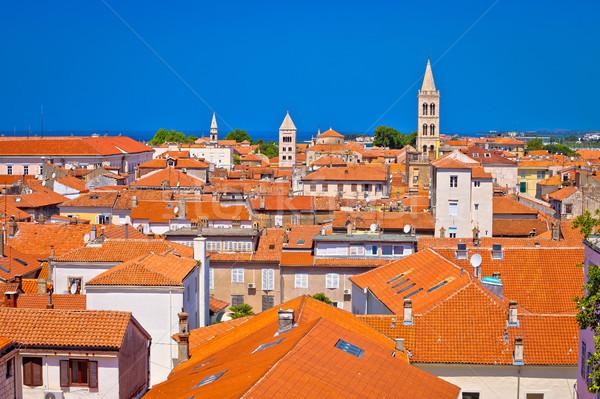Histórico horizonte vista ciudad mar Foto stock © xbrchx