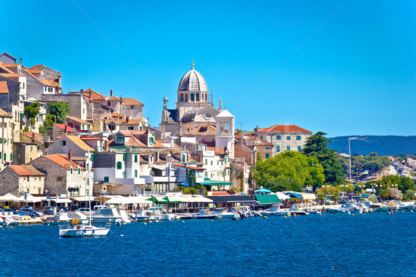 UNESCO town of Sibenik architecture and coastline Stock photo © xbrchx