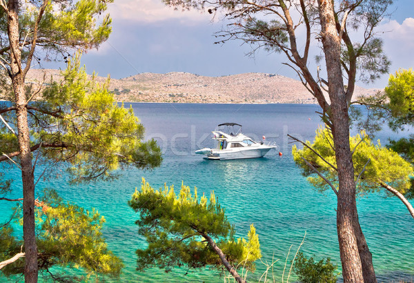 Naturaleza parque destino isla playa nubes Foto stock © xbrchx