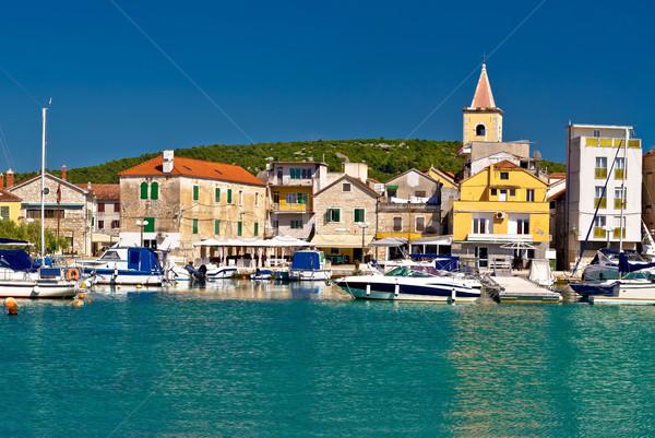 Town of Pirovac panoramic view Stock photo © xbrchx