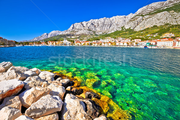 Turquesa montana vista región Croacia Foto stock © xbrchx