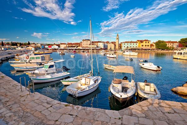 Foto stock: Ciudad · vista · región · Croacia · playa