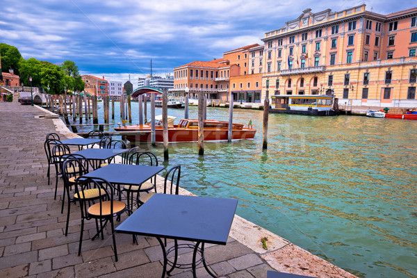 View of Canal Grande in Venice Stock photo © xbrchx
