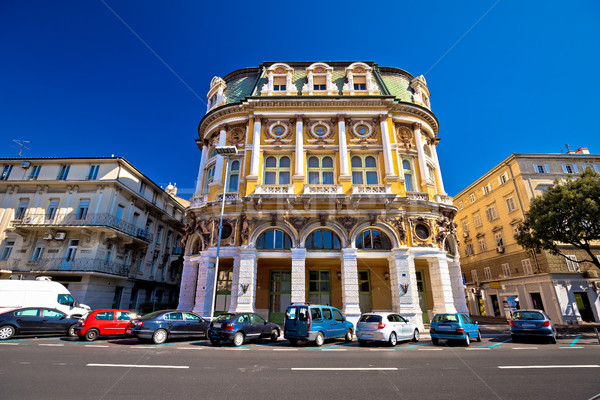 City of Rijeka historic architecture Stock photo © xbrchx