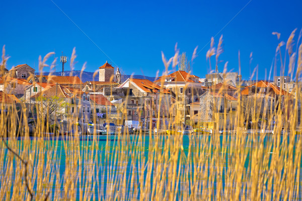 Stad rivier regio water stad Stockfoto © xbrchx