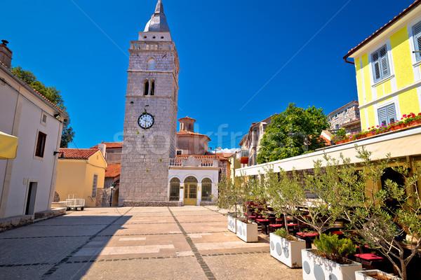 Foto stock: Ciudad · edad · piedra · cuadrados · vista · isla