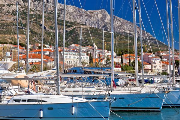 水辺 セーリング 先 地域 クロアチア 水 ストックフォト © xbrchx