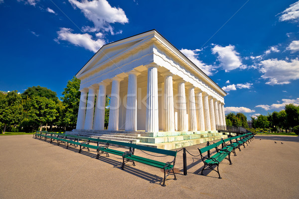 Theseus Temple In Volksgarten park of Vienna Stock photo © xbrchx