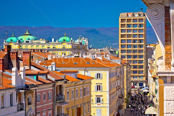 Città principale piazza acqua mare Foto d'archivio © xbrchx