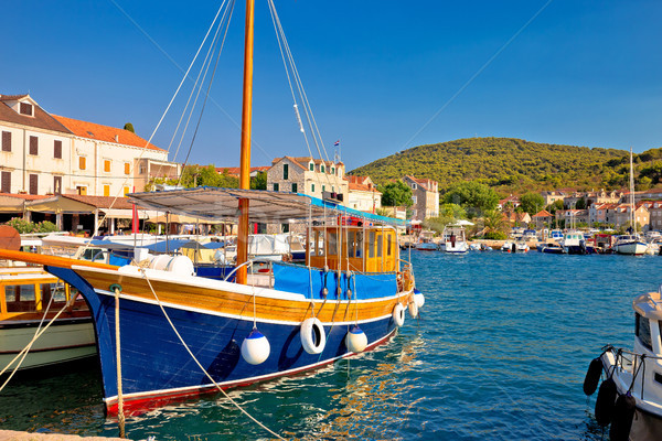 カラフル 島 列島 クロアチア 風景 ストックフォト © xbrchx