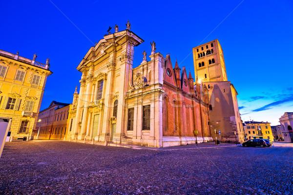 市 大聖堂 表示 ヨーロッパの 文化 ストックフォト © xbrchx