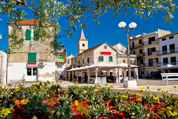 Coastal town of Pirovac old architecture Stock photo © xbrchx